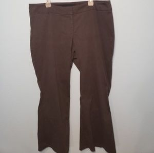 Lane Bryant Dark Gray Boot Cut Pants/Slacks